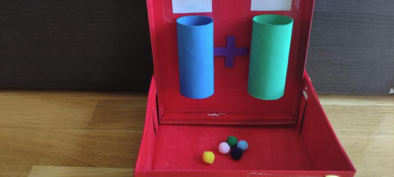 Máquina de sumar para niños por @FilosofoMd